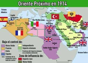 Mapa 1914