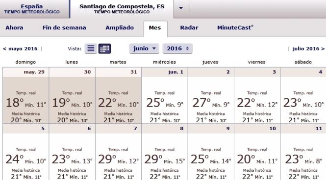 Temperaturas Santiago, 2016.06.08.02