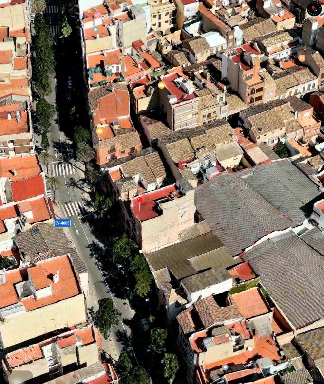 Catarroja Casa De Los Anglés Vista Lateral Izquierda 01