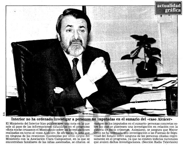 1997.02.04.009 ABC. Interior No Ha Ordenado Investigar A Personas No Imputadas En El Sumario Del 'Caso Alcacer'